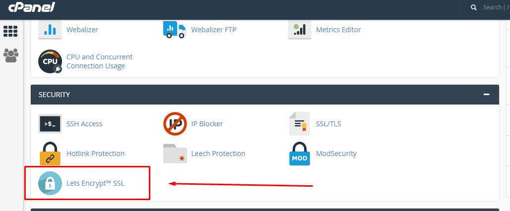 Lets Encrypt SSL kurulum - 1